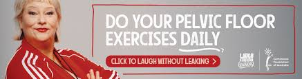 laugh without leaking